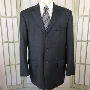 Mantoni Super 140's Men's Suit Jacket Wool 46L